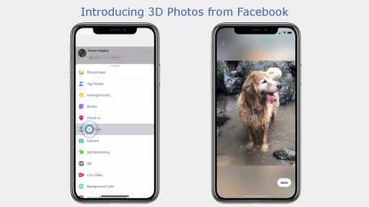 Facebook lanceert 3D-foto's