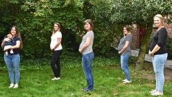 Babyboom op de dienst geriatrie: Vier verpleegsters van Sint-Jozefskliniek zwanger en één net bevallen