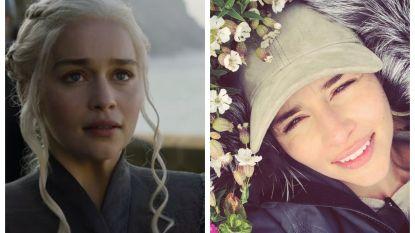 Emilia Clarke neemt afscheid van 'Game of Thrones'