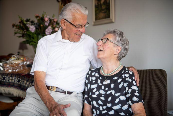 Jan en Klaartje van der Haar-Winter werden verliefd op de schaatsbaan.