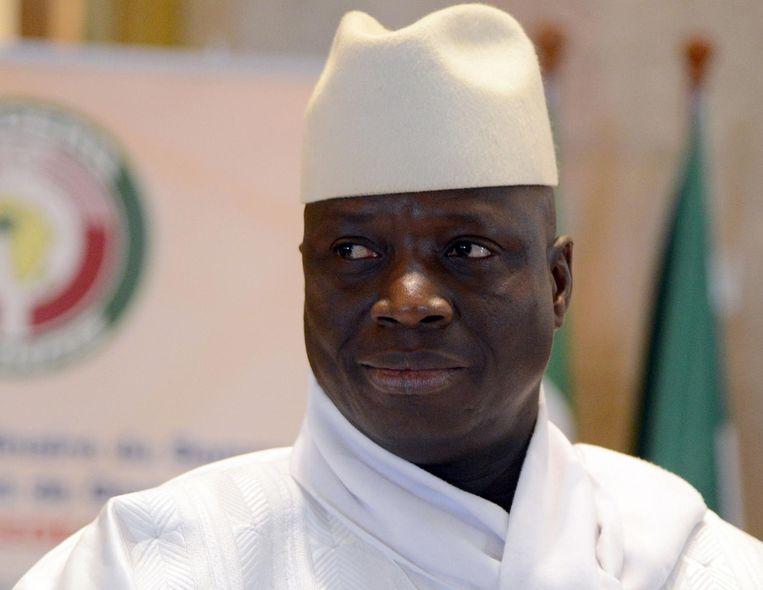 Yahya Jammeh (Gambia) Beeld afp