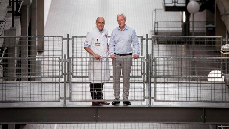 Dink Legemate (links) en Jan Klein. Beeld Mike Roelofs