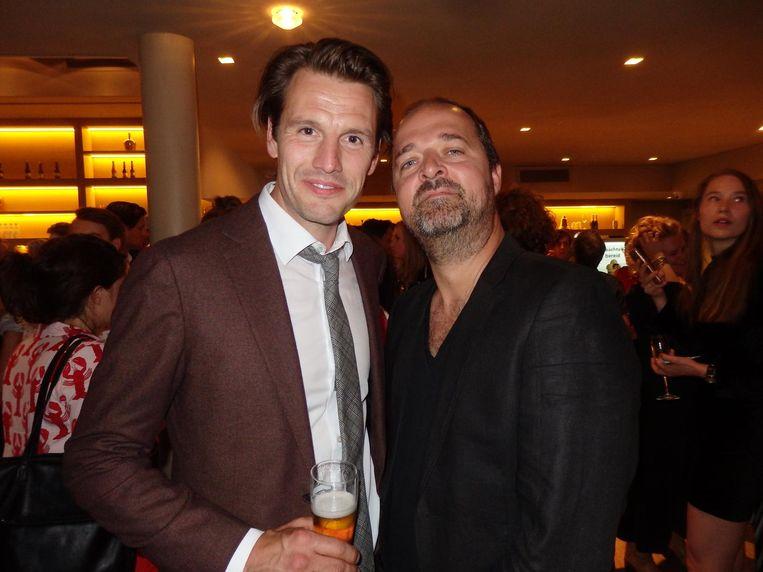 Acteurs Stefan Rokebrand en Kees Boot hebben vanavond vrij. Ze zitten in de alternatieve cast. 36 voorstellingen in 32 dagen hakt er te veel in voor één cast Beeld Schuim