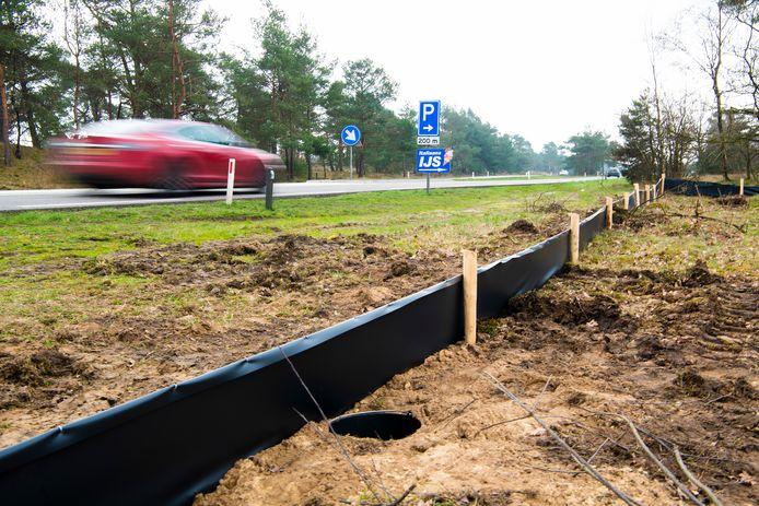 Hier komt het ecoduct over de Kootwijkerweg.