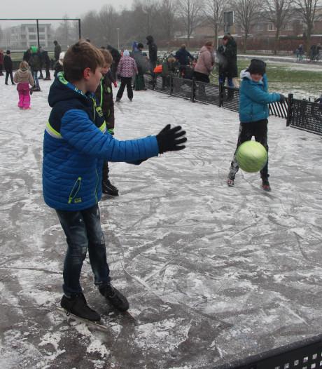 IJspret levert nieuwe sport  op in Borculo: ijspanna