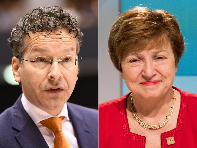 Jeroen Dijsselbloem en Kristalina Georgieva