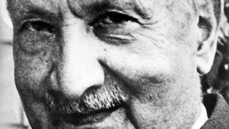 Martin Heidegger Beeld afp