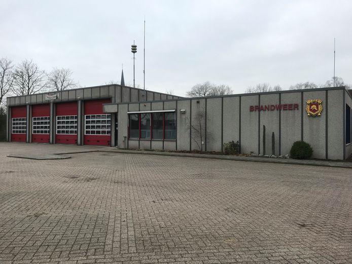 De huidige brandweerkazerne in Twello.