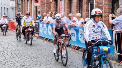 Bart Swings wint 'prijs voor de strijdlust' in allereerste wielerkoers