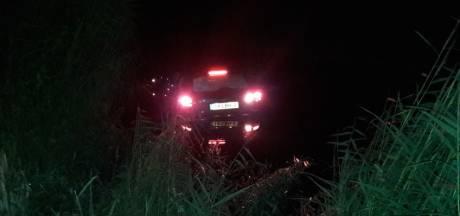 Gestolen auto na achtervolging in Veenendaalse sloot