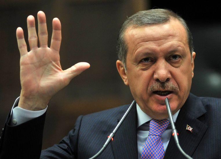 Premier Erdogan. Beeld afp