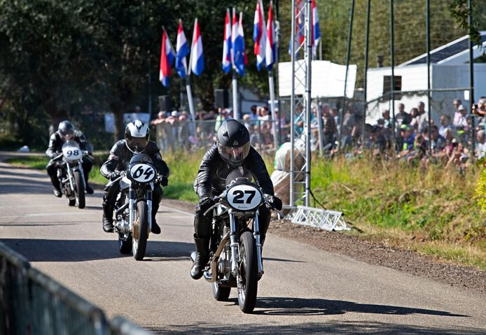 Classic Motor Race in Gemert