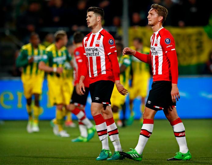 Marco van Ginkel kon de schade niet meer repareren, Luuk de Jong beleeft een zeer teleurstellend seizoen.