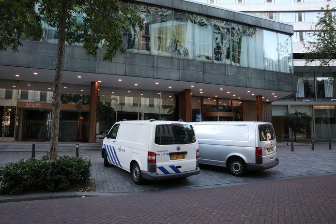 Politie trof het vermiste meisje aan in het Hilton in Rotterdam.