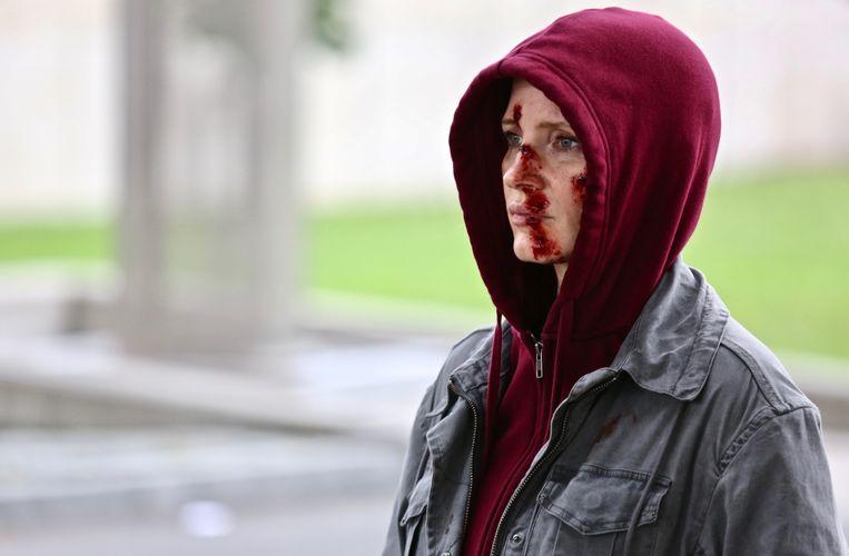 Jessica Chastain als huurmoordenaar in Ava. Beeld