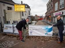 Kademuur Goudsteen in stadshart Maassluis eindelijk vervangen