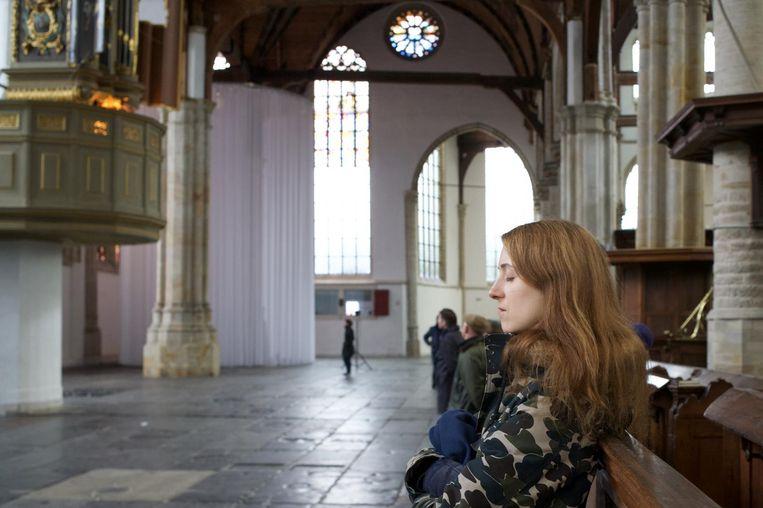 Lekker mijmeren in de kerk met orgelmuziek, het kan deze vrijdag. Beeld Ernst van Deursen