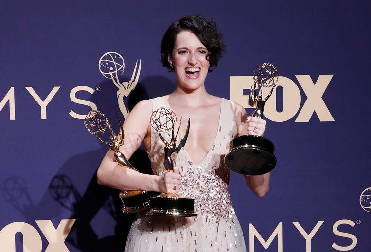Tijdens de Emmy's 2019 mocht Waller-Bridge maar liefst drie beeldjes mee naar huis nemen.