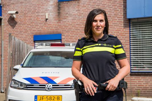 Teamchef Ferda Yondemli van Politie Nijmegen-Zuid