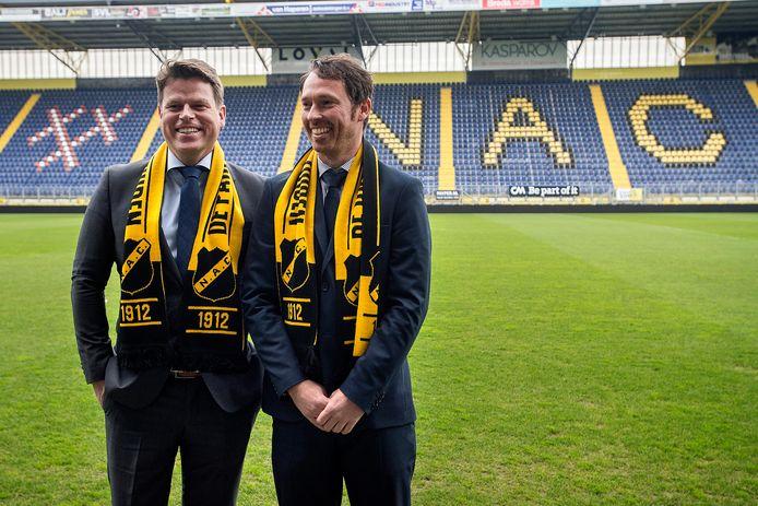 Technisch directeur Tom van den Abbeele (rechts).