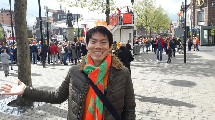 Morit Ikeda uit Japan woont al 3,5 jaar in Tilburg