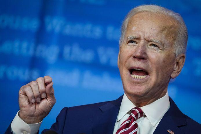 Le candidat démocrate Joe Biden