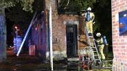 Brand in klein onthaalgebouw Fort Edegem vermoedelijk aangestoken