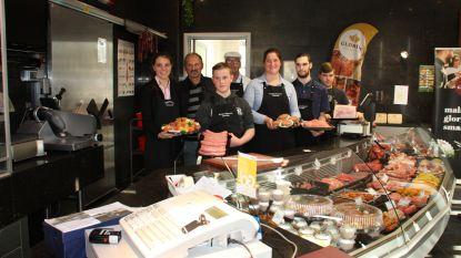 Laatstejaarsstudenten Diksmuidse slagersschool versnijden varken van lokale kweker, dat is duurzaam