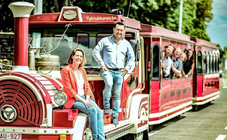 Het treintje moet op zaterdag meer mensen naar de Ieperse binnenstad lokken.