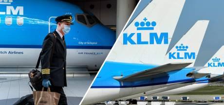'Kostenreductieplan KLM komt er met of zonder bonden'