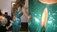 Billen van Sofia Vergara floepen uit jurk
