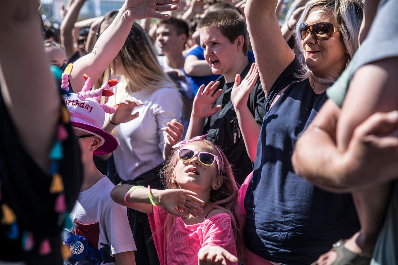 Bezoekers vorig jaar op het bevrijdingsfestival in Zeeland. Beeld null