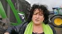 Een still uit een video die Caroline van der Plas opname op het Malieveld in Den Haag.