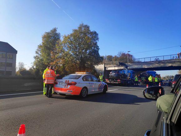 Ongeval E40 Drongen