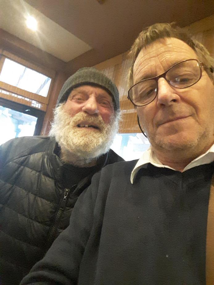 Rudi Lubbers met Arie Grinsven in Bulgarije