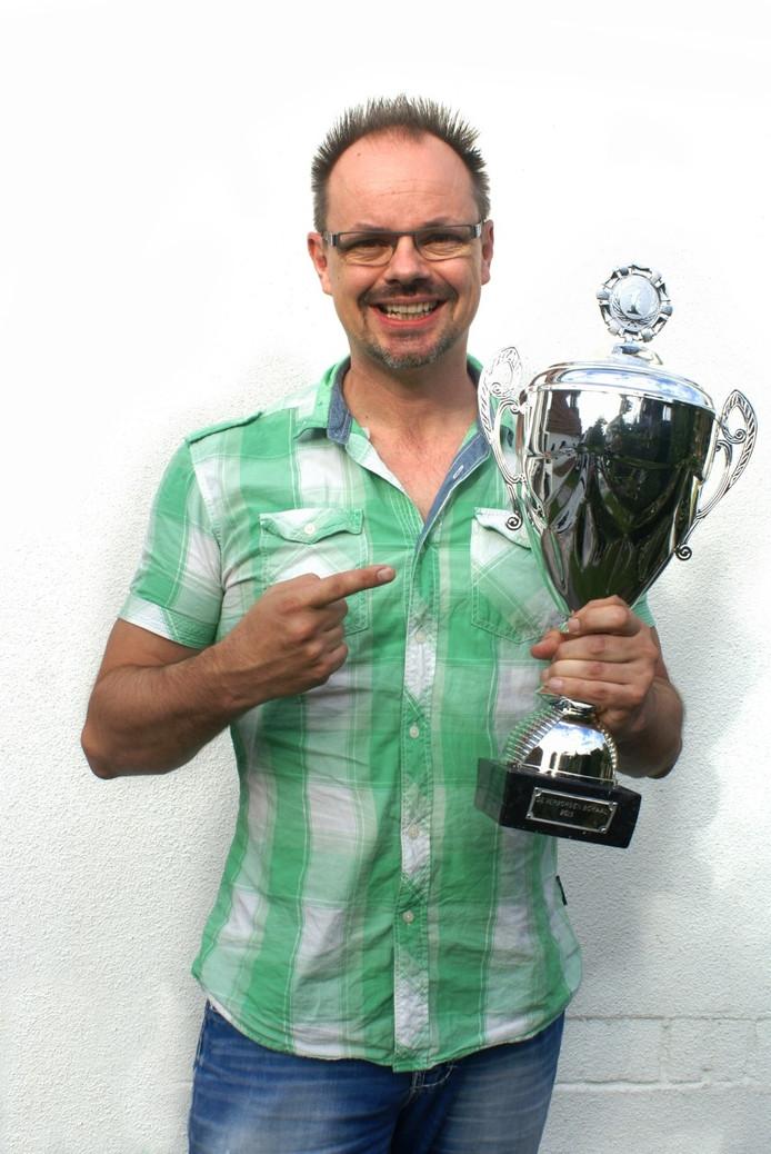 Silvester Zwaneveld, de winnaar van de Verborgen Bokaal