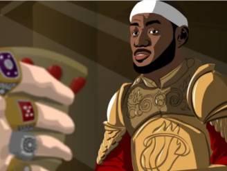 Wat als LeBron James en Kevin Durant in Game of Thrones speelden?