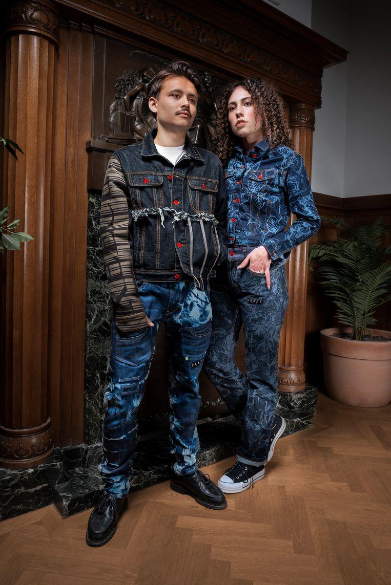 Genderneutrale broeken van Vince Hale. Beeld Hale Photography