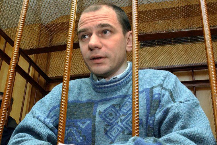 De Russische wapenexpert Igor Sutyagin (AFP) Beeld
