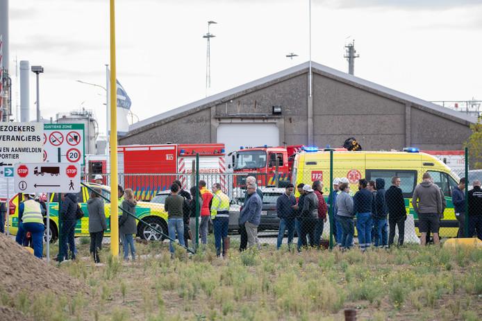 Ongeveer driehonderd personen werden geëvacueerd.