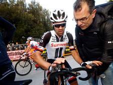 Dumoulin naast podium Tirreno na matige tijdrit
