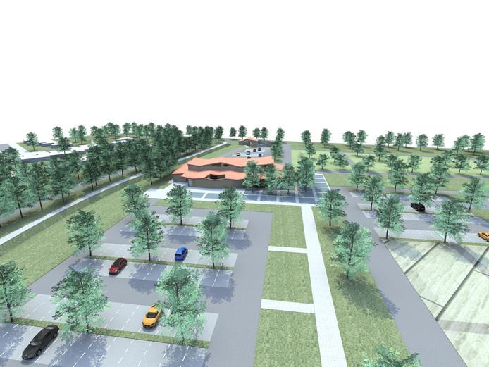 De afronding van het nieuwe crematorium en de begraafplaats aan de Schipleidelaan kost de gemeente zestig mille meer dan gepland.