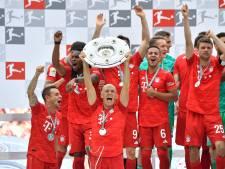 Robben krijgt met goal én landstitel sprookjesachtig Bayern-afscheid