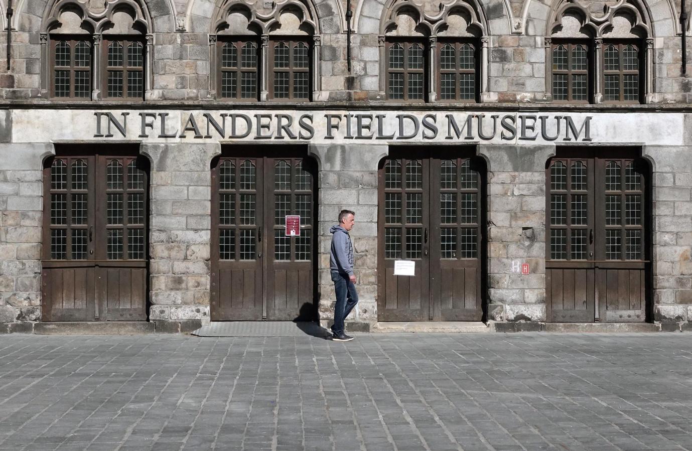 Het In Flanders Fields Museum in Ieper.