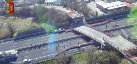 Opnieuw brug ingestort in Italië