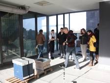 Ook Pullman Hotel in Eindhoven heeft nu bijenkasten op het dak