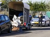 Benodigdheden voor drugslab aangetroffen in paardentrailer in Eindhoven