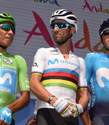 Quintana opent met Valverde de aanval op Roglic: Niets te verliezen