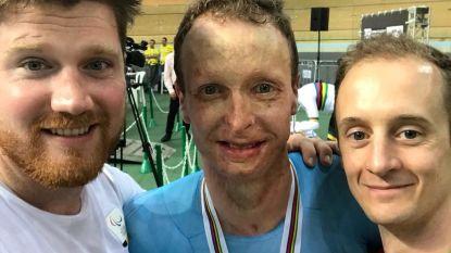 Paralympisch renner Diederick Schelfhout valt op Zesdaagse en breekt ruggenwervel