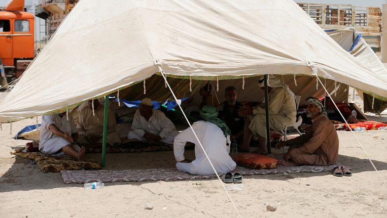 Gevluchte burgers uit Falluja Beeld reuters